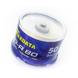 TRAXDATA CD disk CD-R 52x PRNF C50