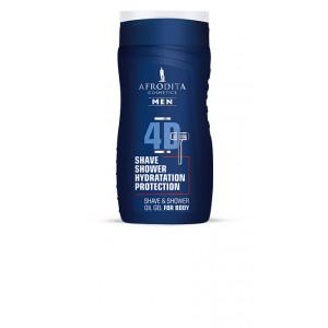 AFRODITA uljni gel za brijanje i tuširanje MEN 4D 250ml
