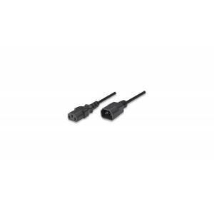 MH kabl naponski za UPS C14-Muški/C13-Ženski 1.8m black