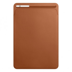 APPLE futrola Leather Sleeve for 10.5-inch iPad Pro - Saddle Brown MPU12ZM/A