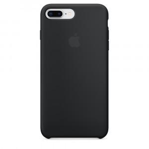 APPLE iPhone 8 Plus/7 Plus Silicone Case - Black MQGW2ZM/A