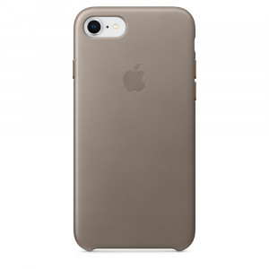 APPLE iPhone 8/7 Leather Case - Taupe MQH62ZM/A
