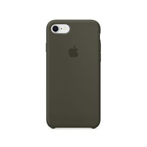APPLE iPhone 8/7 Silicone Case - Dark Olive