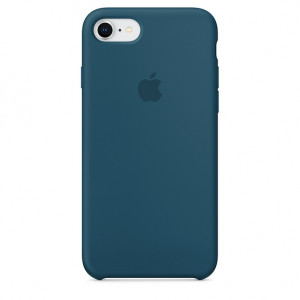 APPLE iPhone 8/7 Silicone Case - Cosmos Blue MR692ZM/A