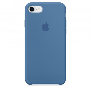 APPLE iPhone 8/7 Silicone Case - Denim Blue MRFR2ZM/A