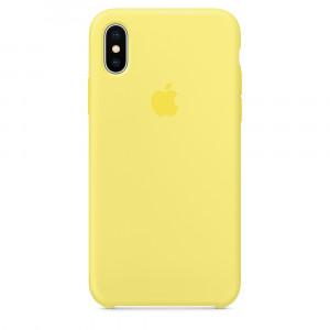 APPLE iPhone X Silicone Case - Lemonade MRG32ZM/A