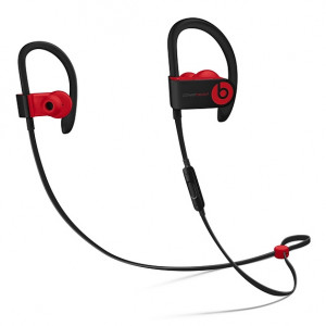 DR.DRE Beats Powerbeats3 Wireless Earphones - The Beats Decade Collection - Defiant Black-Red MRQ92ZM/A