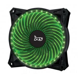 MS ventilator za kućište PC FREEZE 33LED green