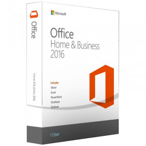 MICROSOFT paket Office Home and Business 2016 32/64 English CEE Only DVD P2