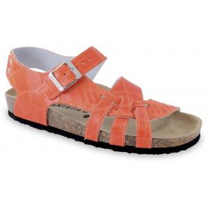 GRUBIN ženske sandale 203570 PISA Narandžaste