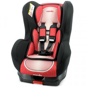 NANIA auto sedište cosmo sky red 0/1/2 0-25kg 392991