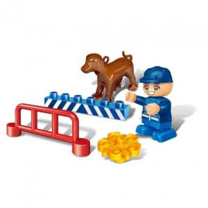BANBAO Policajac sa psom 9606