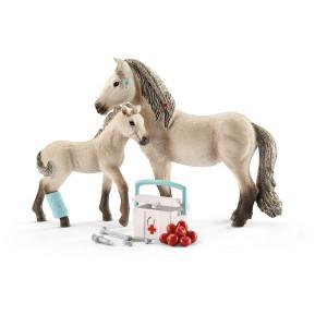 SCHLEICH set konja sa medicinskom opremom 42430
