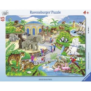 RAVENSBURGER puzzle - poseta zoo vrtu RA06661