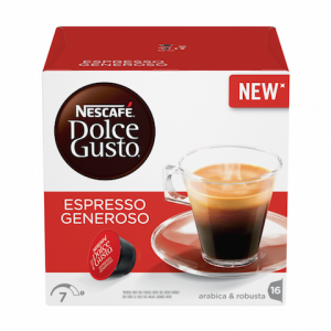 NESCAFE Dolce Gusto Espresso Generoso kafa 112g (16 kapsula)