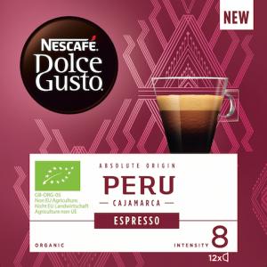 NESCAFE Dolce Gusto Peru espresso kafa 84g (12 kapsula)