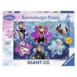 RAVENSBURGER puzzle (slagalice) - Frozen u oblacicma RA05437