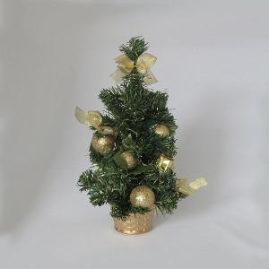 Novogodišnja jelka stona 30 cm dekorisana 170520