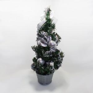Novogodišnja jelka stona 40 cm dekorisana 170523