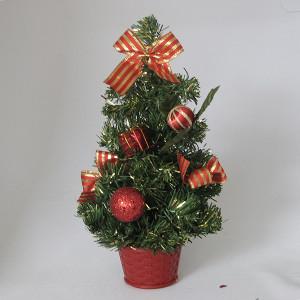 Novogodišnja jelka stona 40 cm dekorisana 170524