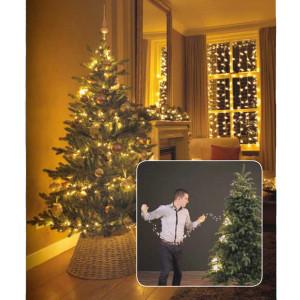 Novogodišnja LED rasveta za jelku 180cm-171L Topla bela Lumineo 1-2 Glow 495466