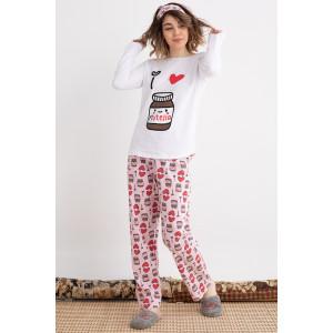 Pidžama ženska Nutella 3652 XL***K