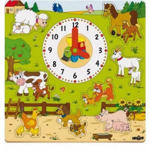 WOODY Sat sa puzzlama - zivotinjska farma 93023