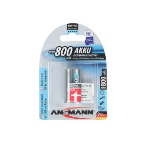 ANSMANN baterija HR03 800mAh 2/1