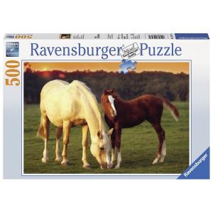 RAVENSBURGER Ravensburger puzzle (slagalice) - kobila i ždrebe RA14347