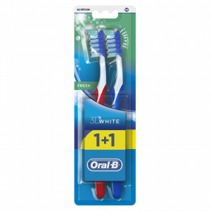 ORAL B četkica za zube 3D fresh 40 medium 1+1 gratis