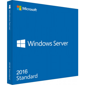 OFFICE Windows Svr Std 2016 64Bit English 1pk DSP OEI DVD 16 Core