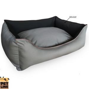PET LINE 2u1 krevet od vodoodbojnog materijala 80x65 P807M-112-112