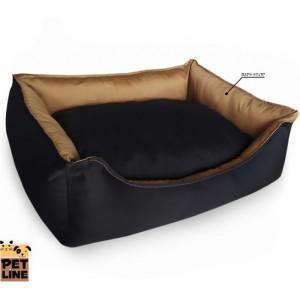 PET LINE 2u1 krevet od vodoodbojnog materijala 100x85 P807L-28-28