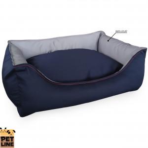 PET LINE 2u1 krevet od vodoodbojnog materijala 100x85 P807L-311-311