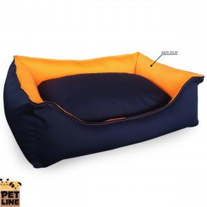 PET LINE 2u1 krevet od vodoodbojnog materijala 100x85 P807L-36-36