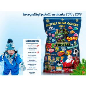 Novogodišnji paketić za dečaka 2018/2019