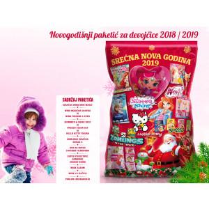 Novogodišnji paketić za devojčice 2018/2019
