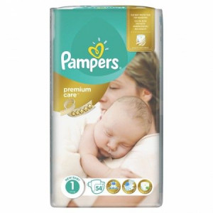 PAMPERS PREMIUM VP 1 NEWBORN (54)