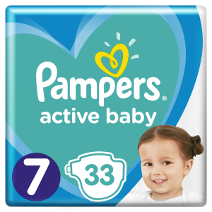 PAMPERS AB VP 7 EXTRALARGE (33)
