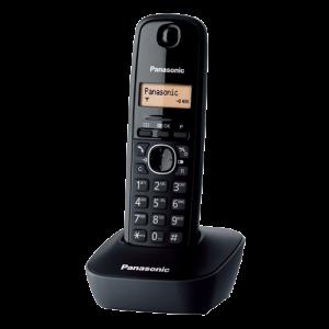 PANASONIC telefon KX-TG1611FXH black