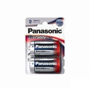 PANASONIC baterije LR20EPS/2BP - 2 × D alkalne Everyday  Power