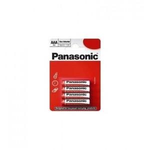PANASONIC baterije R03RZ/4BP - 4× AAA Zinc Carbon