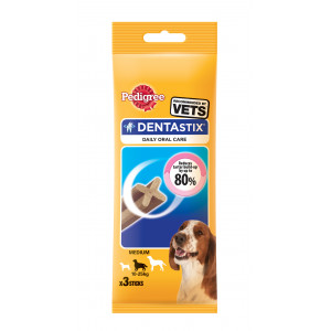 PEDIGREE hrana za pse, Denta Stix Mono medium/large 77g 520036