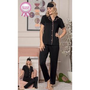 Pidžama ženska na raskopčavanje 5583-1 L***K