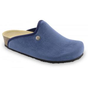 GRUBIN ženske papuče tople 157366 CAKI Plave