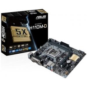 ASUS matična ploča Intel MB H110M-D 1151