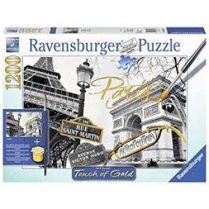 RAVENSBURGER Ravensburger puzzle (slagalice) - Zlatni Pariz RA19935