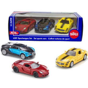SIKU trkački automobili 6301