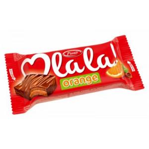 CAKE BAR ORANGE O LALA 35G.PIONIR