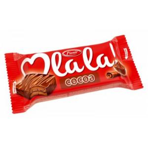 CAKE BAR COCOA OLALA 35G.PIONIR